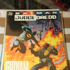 Cómics: BATMAN JUDGE DREDD VENDETTA IN GOTHAM DC USA. Lote 206503280