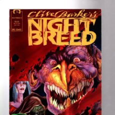 Cómics: CLIVE BARKER´S NIGHT BREED 5 - MARVEL EPIC 1990 VFN+. Lote 206524721