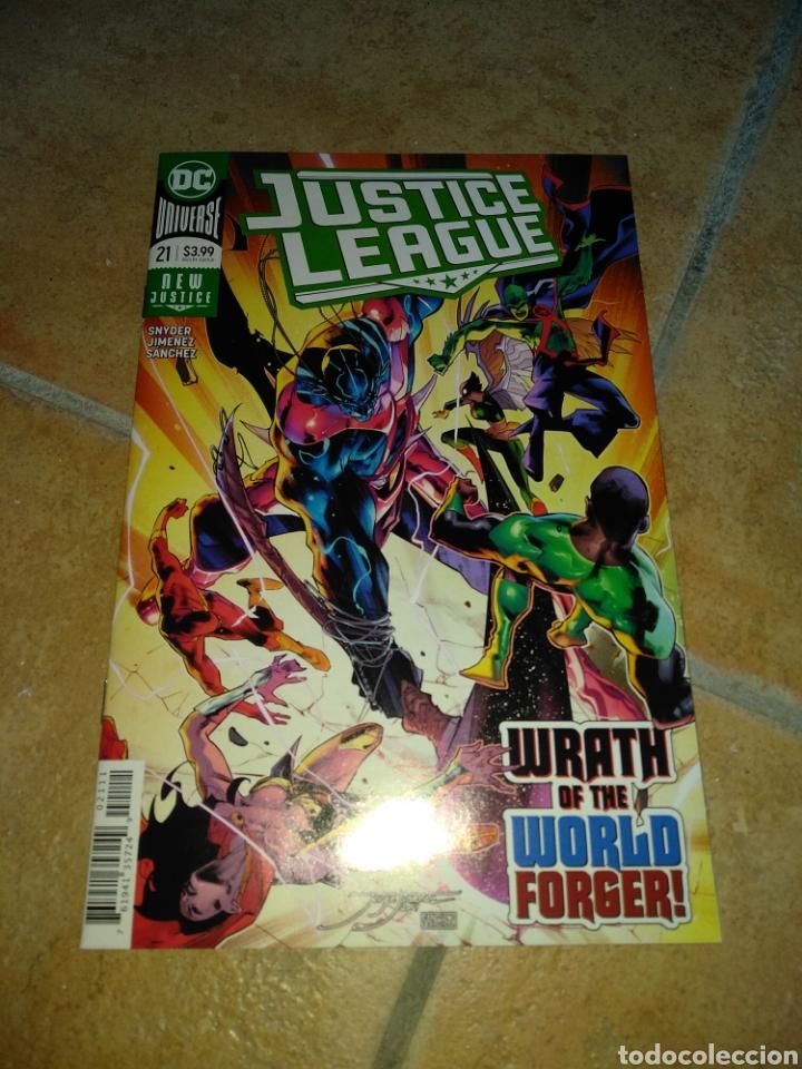 JUSTICE LEAGUE #21 USA. (Tebeos y Comics - Comics Lengua Extranjera - Comics USA)