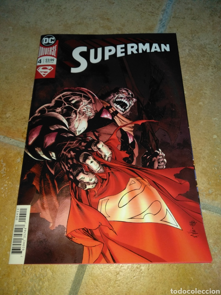 SUPERMAN #4 USA. (Tebeos y Comics - Comics Lengua Extranjera - Comics USA)