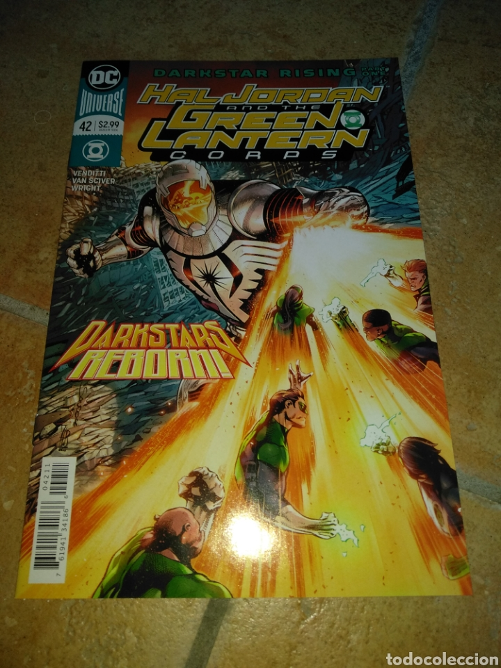 HAL JORDAN AND THE GREEN LANTERN CORPS #42 USA. (Tebeos y Comics - Comics Lengua Extranjera - Comics USA)