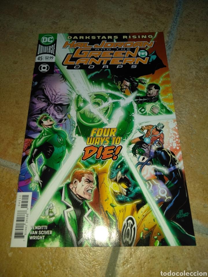 HAL JORDAN AND THE GREEN LANTERN CORPS #45 USA. (Tebeos y Comics - Comics Lengua Extranjera - Comics USA)