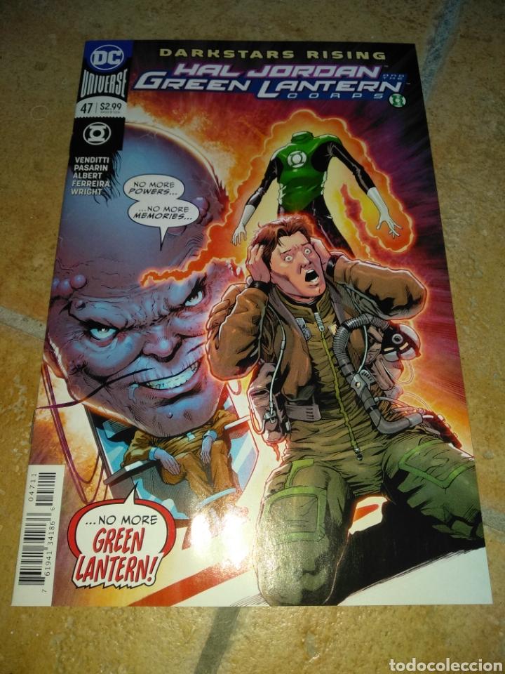HAL JORDAN AND THE GREEN LANTERN CORPS #47 USA. (Tebeos y Comics - Comics Lengua Extranjera - Comics USA)