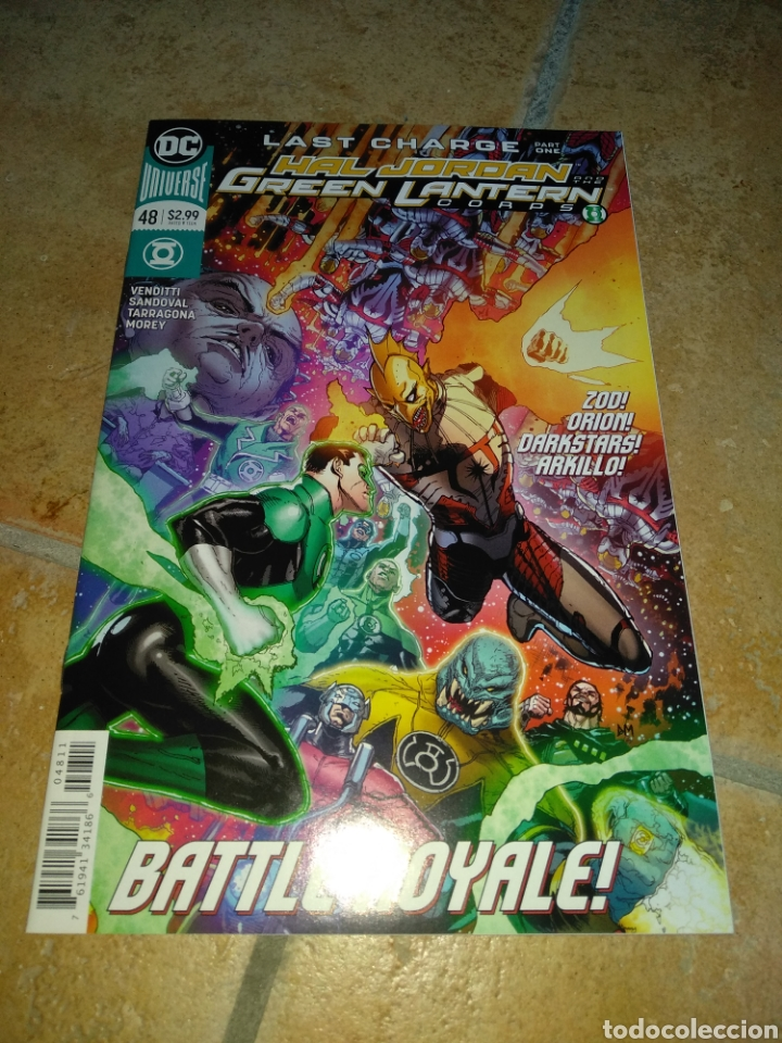 HAL JORDAN AND THE GREEN LANTERN CORPS #48 USA. (Tebeos y Comics - Comics Lengua Extranjera - Comics USA)