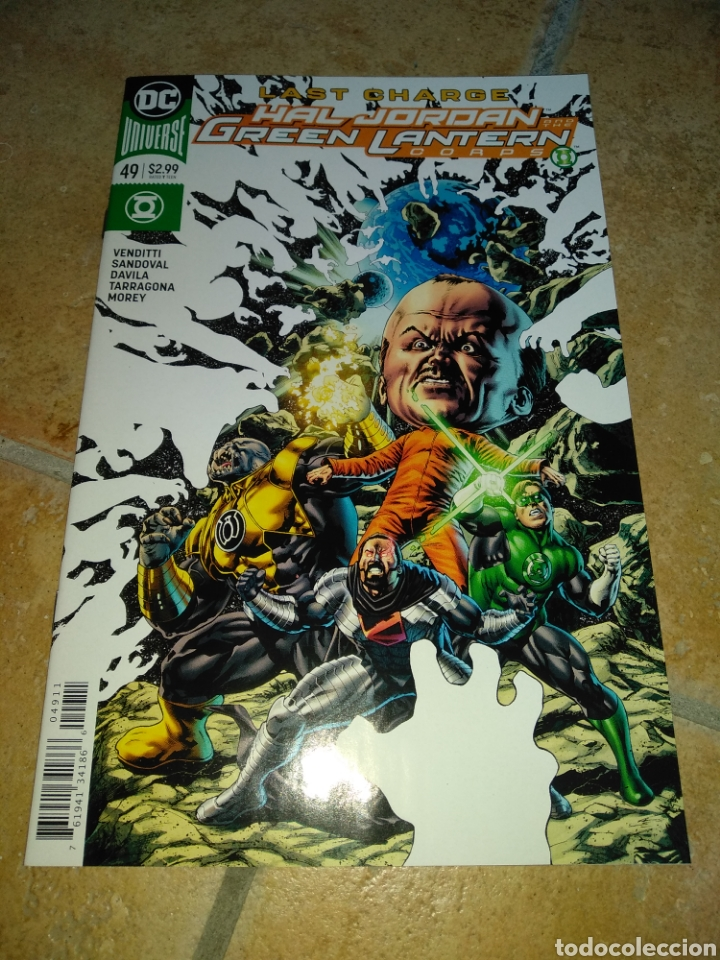 HAL JORDAN AND THE GREEN LANTERN CORPS #49 USA. (Tebeos y Comics - Comics Lengua Extranjera - Comics USA)
