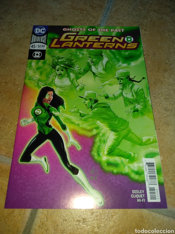 GREEN LANTERNS #45 USA. (Tebeos y Comics - Comics Lengua Extranjera - Comics USA)