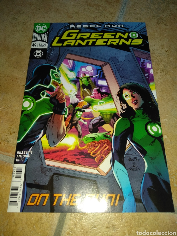 GREEN LANTERNS #49 USA. (Tebeos y Comics - Comics Lengua Extranjera - Comics USA)
