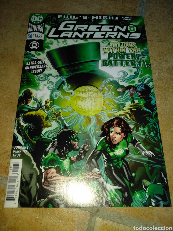 GREEN LANTERNS #50 USA. (Tebeos y Comics - Comics Lengua Extranjera - Comics USA)