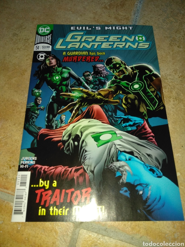 GREEN LANTERNS #51 USA. (Tebeos y Comics - Comics Lengua Extranjera - Comics USA)