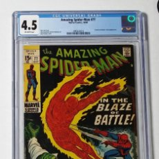 Cómics: OFERTA COMIC USA AMAZING SPIDERMAN 77 CGC 4.5 SILVER AGE MARVEL 1969 STAN LEE ROMITA. Lote 207125571