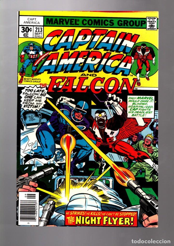 CAPTAIN AMERICA 213 AND THE FALCON - MARVEL 1977 VFN/NM / JACK KIRBY (Tebeos y Comics - Comics Lengua Extranjera - Comics USA)