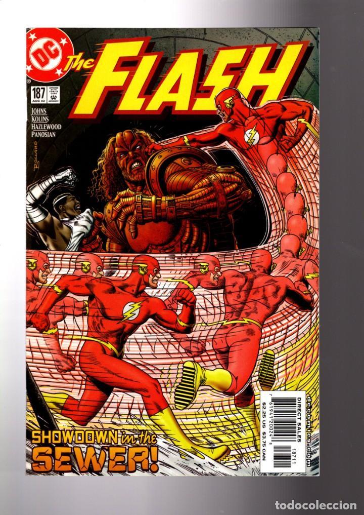 FLASH 187 - DC 2002 VFN+ / GEOFF JOHNS / BRIAN BOLLAND COVER / THE NEW ROGUES CROSSFIRE (Tebeos y Comics - Comics Lengua Extranjera - Comics USA)