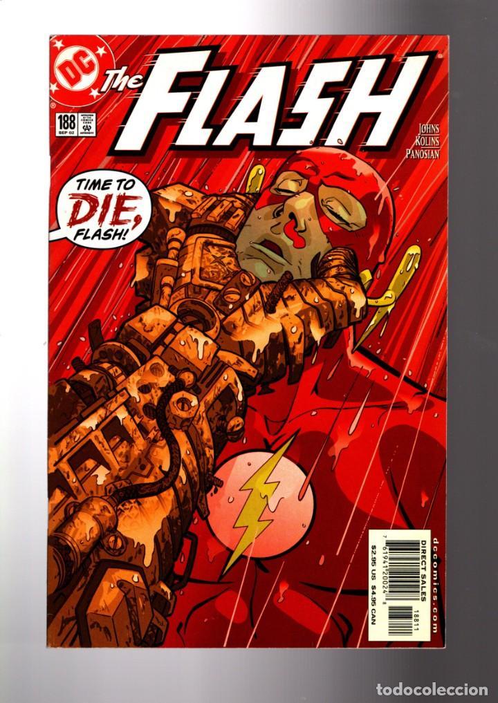 FLASH 188 - DC 2002 VFN/NM / GEOFF JOHNS / THE NEW ROGUES CROSSFIRE (Tebeos y Comics - Comics Lengua Extranjera - Comics USA)