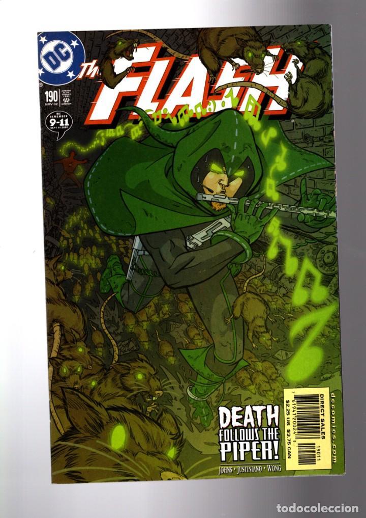 FLASH 190 - DC 2002 VFN/NM / GEOFF JOHNS / DEATH FOLLOWS THE PIPER (Tebeos y Comics - Comics Lengua Extranjera - Comics USA)