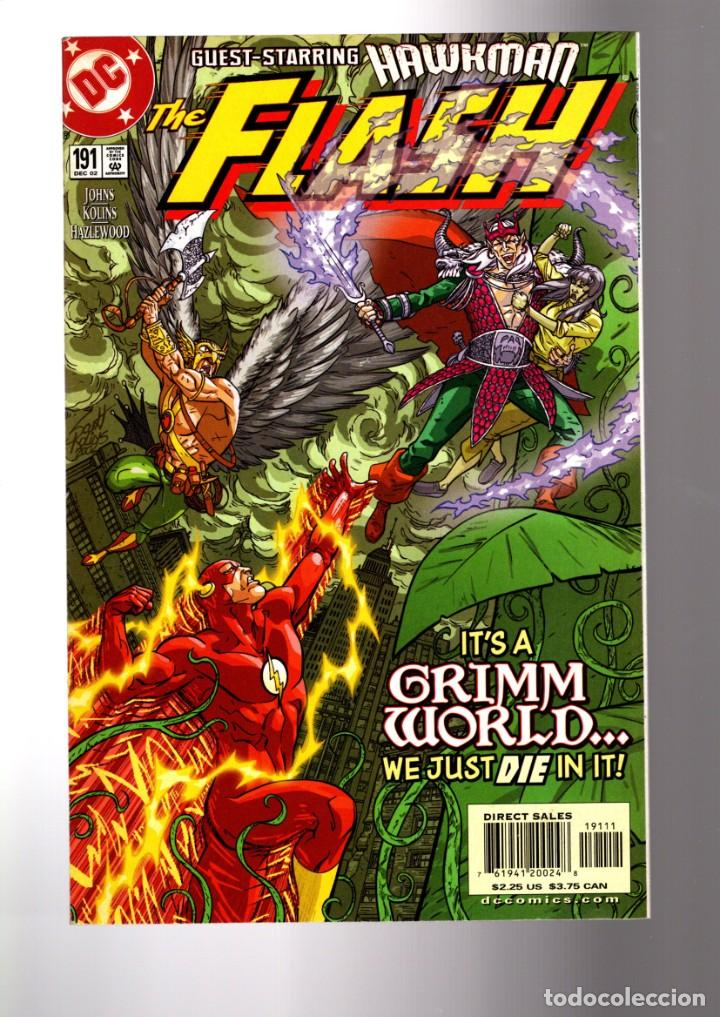 FLASH 191 - DC 2002 VFN/NM / GEOFF JOHNS / HAWKMAN (Tebeos y Comics - Comics Lengua Extranjera - Comics USA)