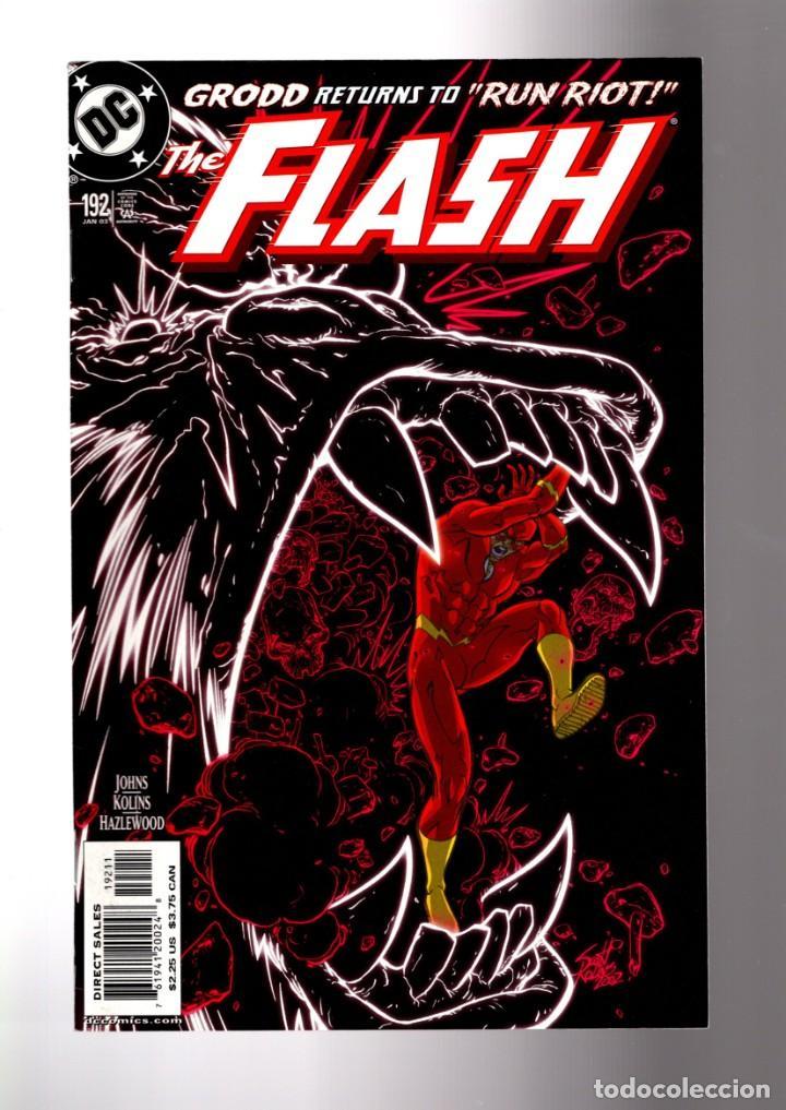FLASH 192 - DC 2002 VFN/NM / GEOFF JOHNS / RETURN OF GRODD (Tebeos y Comics - Comics Lengua Extranjera - Comics USA)
