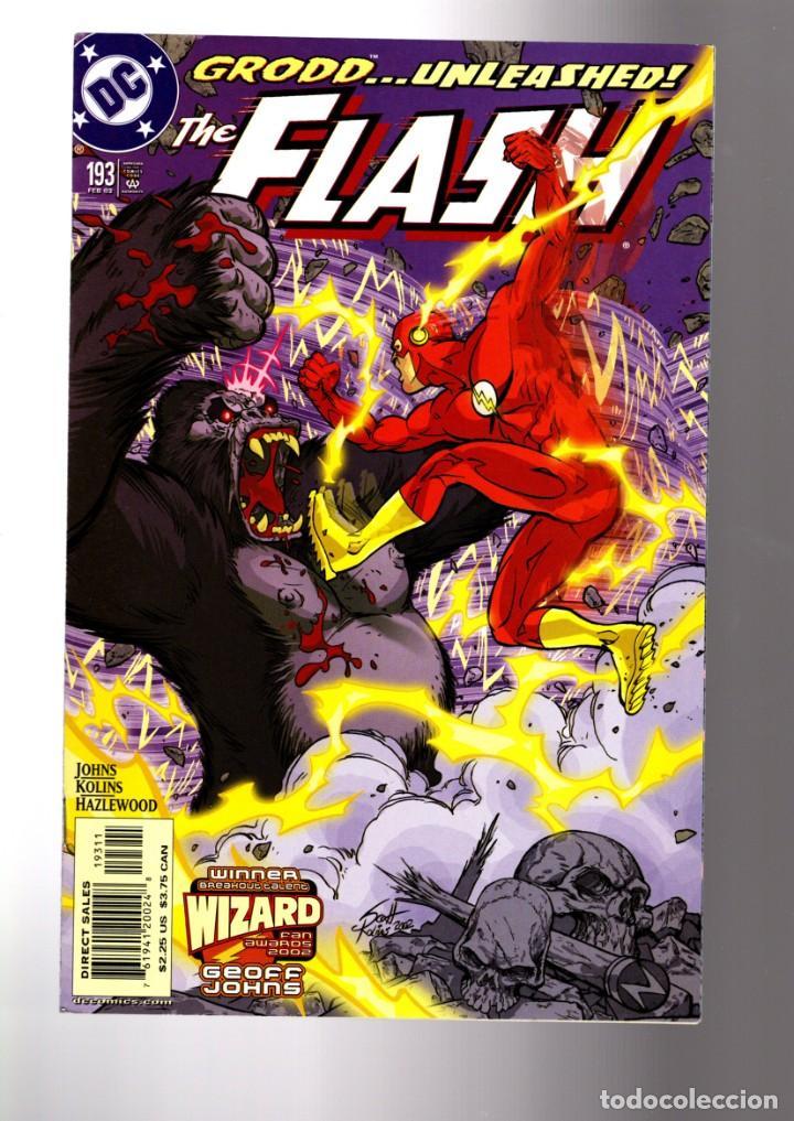 FLASH 193 - DC 2002 VFN/NM / GEOFF JOHNS / RETURN OF GRODD (Tebeos y Comics - Comics Lengua Extranjera - Comics USA)