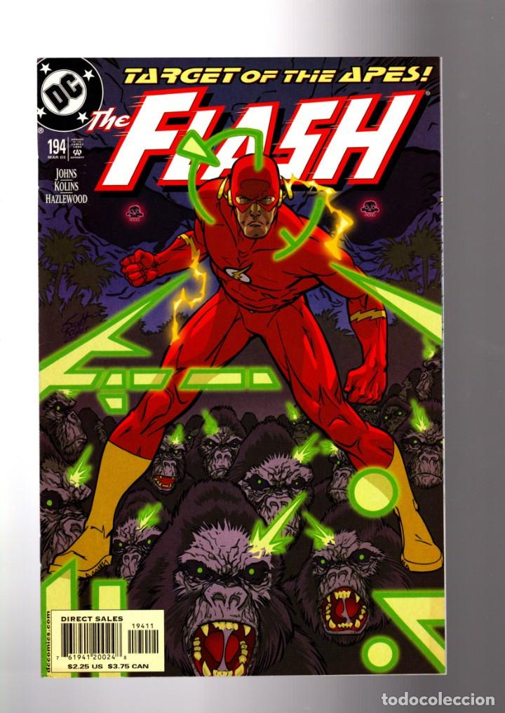 FLASH 194 - DC 2003 VFN/NM / GEOFF JOHNS / RETURN OF GRODD (Tebeos y Comics - Comics Lengua Extranjera - Comics USA)