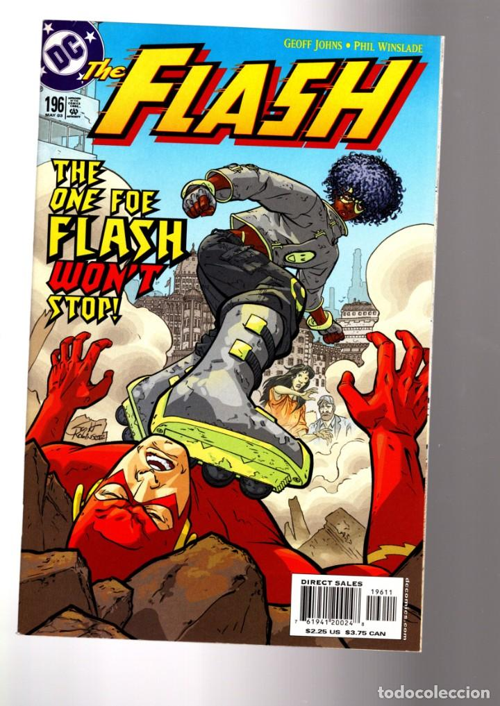 FLASH 196 - DC 2003 VFN/NM / GEOFF JOHNS (Tebeos y Comics - Comics Lengua Extranjera - Comics USA)
