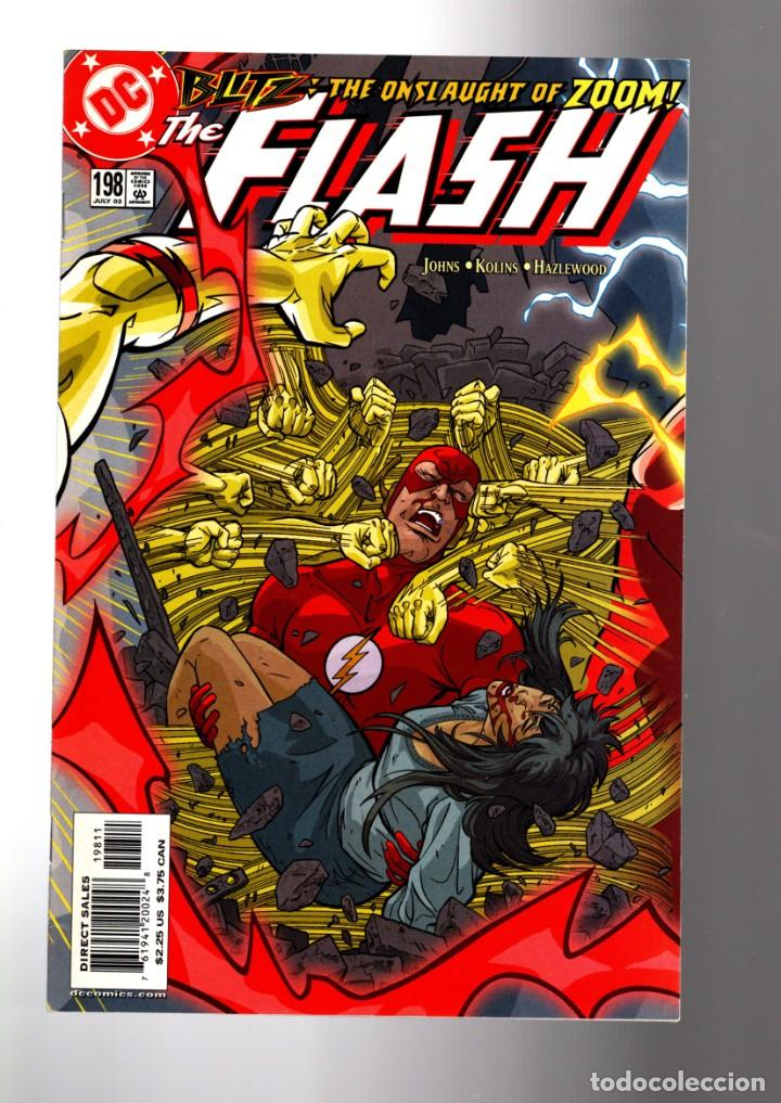 FLASH 198 - DC 2003 VFN/NM / GEOFF JOHNS / ZOOM (Tebeos y Comics - Comics Lengua Extranjera - Comics USA)