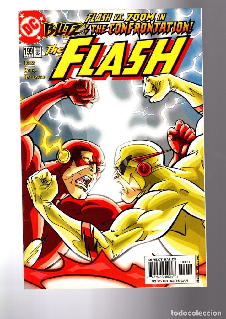FLASH 199 - DC 2003 VFN/NM / GEOFF JOHNS / ZOOM (Tebeos y Comics - Comics Lengua Extranjera - Comics USA)