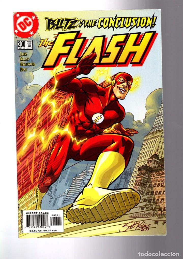 FLASH 200 - DC 2003 VFN/NM GIANT SIZE ANNIVERSARY / GEOFF JOHNS / ZOOM (Tebeos y Comics - Comics Lengua Extranjera - Comics USA)