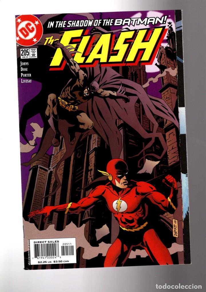 FLASH 205 - DC 2004 VFN/NM / GEOFF JOHNS / IN THE SHADOW OF THE BATMAN (Tebeos y Comics - Comics Lengua Extranjera - Comics USA)