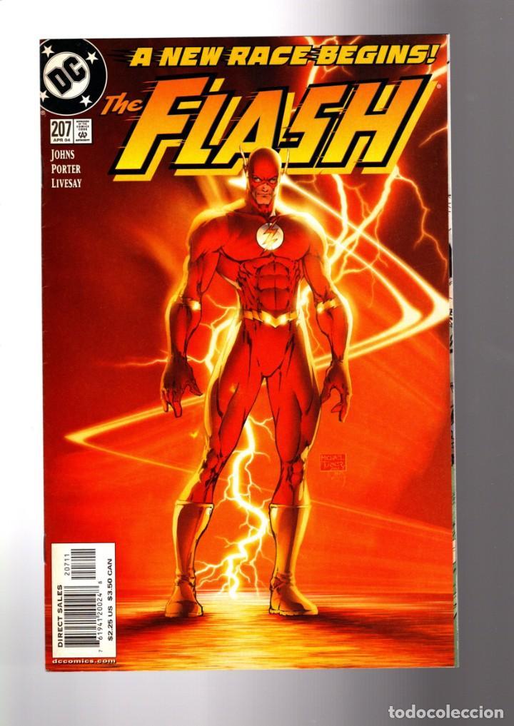 FLASH 207 - DC 2004 VFN/NM / GEOFF JOHNS & HOWARD PORTER / A NEW RACE BEGINS / MICHAEL TURNER COVER (Tebeos y Comics - Comics Lengua Extranjera - Comics USA)