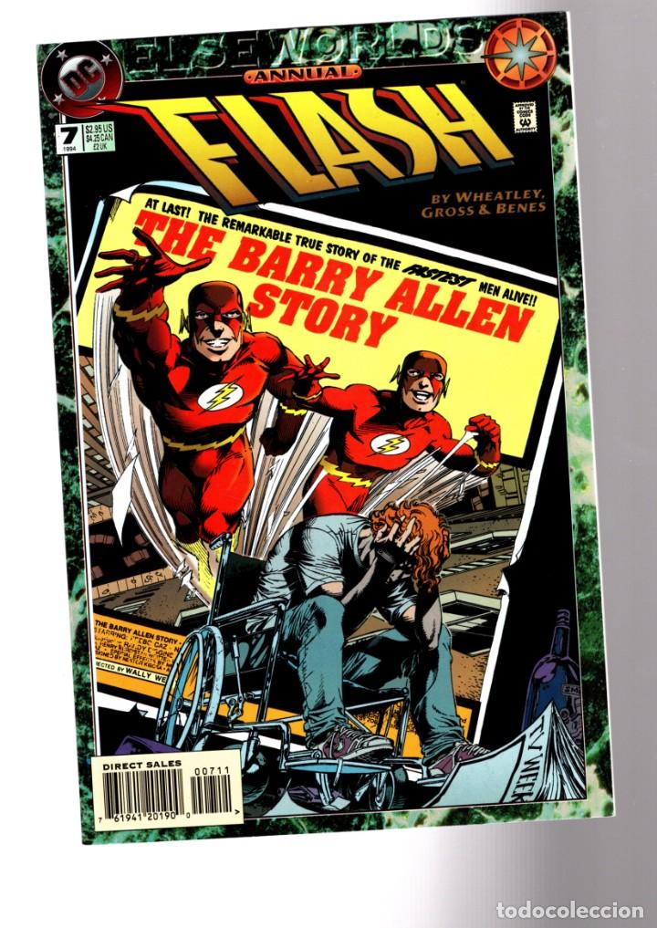 FLASH ANNUAL 7 - DC 1994 VFN/NM / ELSEWORLDS / THE BARRY ALLEN STORY (Tebeos y Comics - Comics Lengua Extranjera - Comics USA)