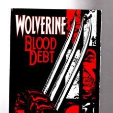 Cómics: WOLVERINE BLOOD DEBT - MARVEL 2001 VFN. Lote 208028381