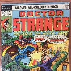 Cómics: DOCTOR STRANGE #21 (VOL. 2 1974) - EXTENDED ORIGIN (#169) - (FN 6.0). Lote 208767355