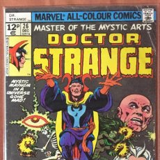 Cómics: DOCTOR STRANGE #26 (VOL. 2 1974) - THE RETURN OF THE ANCIENT ONE - (VG/FN 5.0). Lote 208767655