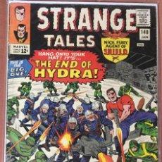 Cómics: STRANGE TALES #140 (VOL.1) - NICK FURY & DOCTOR STRANGE - (VG+ 4.5). Lote 208770635