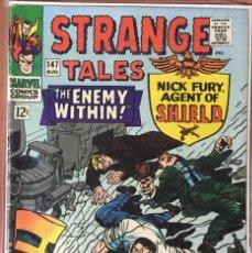 Cómics: STRANGE TALES #147 (VOL.1) - NICK FURY & DOCTOR STRANGE - (VG 4.0). Lote 208771037