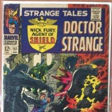 Cómics: STRANGE TALES #151 (VOL.1) - NICK FURY & DOCTOR STRANGE - FIRST JIM STERANKO ARTWORK - VG/FN 5.0. Lote 208771943