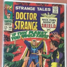 Cómics: STRANGE TALES #160 (VOL.1) - NICK FURY & DOCTOR STRANGE - FN- 5.5. Lote 208772881