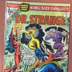 Cómics: DR STRANGE KING-SIZE ANNUAL #1 (1976) - DOOMWORLD! - (G 2.0). Lote 208886245