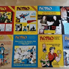 Cómics: NEMO THE CLASSIC COMICS LIBRARY. MILTON CANIFF, ALEX RAYMOND, AL CAPP, CARL BARKS, ... (7 REVISTAS). Lote 209587870