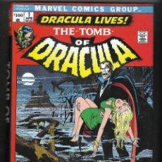Cómics: MARK WOFMAN, GENE COLAN. THE TOMB OF DRACULA OMNIBUS. TOMO 1. EN INGLÉS.. Lote 209730768