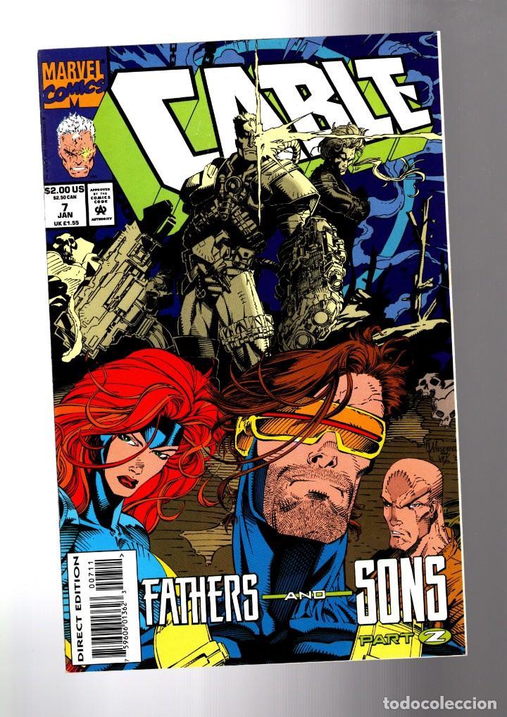CABLE 7 - MARVEL 1994 VFN/NM (Tebeos y Comics - Comics Lengua Extranjera - Comics USA)