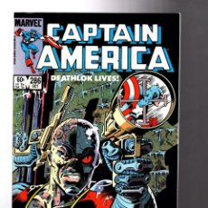 Cómics: CAPTAIN AMERICA 286 - MARVEL 1983 VFN+ / RETURN OF DEATHLOK. Lote 209897636