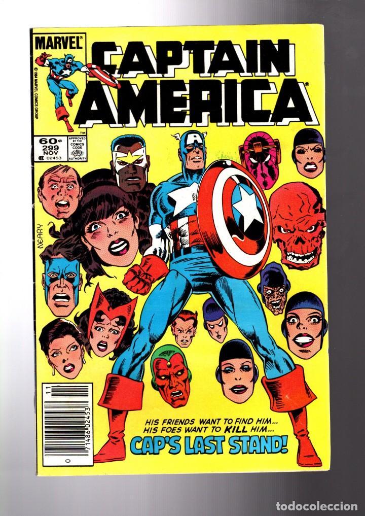 CAPTAIN AMERICA 299 - MARVEL 1984 VG/FN (Tebeos y Comics - Comics Lengua Extranjera - Comics USA)