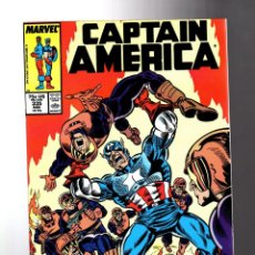 Cómics: CAPTAIN AMERICA 335 - MARVEL 1987 VFN+ / NEW CAPTAIN AMERICA AND BUCKY 1ST ADVENTURE. Lote 209897908
