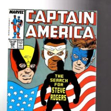 Cómics: CAPTAIN AMERICA 336 - MARVEL 1987 VFN/NM / 1ST STEVE ROGERS AS THE CAPTAIN. Lote 209898016