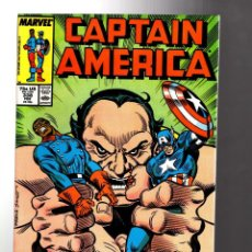 Cómics: CAPTAIN AMERICA 338 - MARVEL 1988 VFN/NM. Lote 209898165