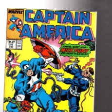 Cómics: CAPTAIN AMERICA 351 - MARVEL 1989 VFN+ / NICK FURY. Lote 209898563