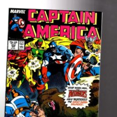 Cómics: CAPTAIN AMERICA 352 - MARVEL 1989 VFN+ / AVENGERS VS SOVIET SUPER SOLDIERS. Lote 209898695