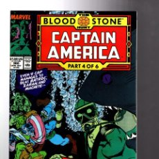 Cómics: CAPTAIN AMERICA 360 - MARVEL 1989 VFN/NM / BLOODSTONE HUNT / 1ST CROSSBONES. Lote 209899036