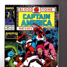 Cómics: CAPTAIN AMERICA 361 - MARVEL 1989 VFN+ / BLOODSTONE HUNT / LIVING MUMMY. Lote 209899336