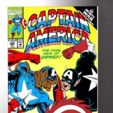 Cómics: CAPTAIN AMERICA 408 - MARVEL 1992 VFN/NM / CAPWOLF / INFINITY WAR. Lote 209900902
